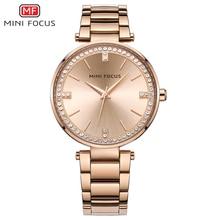 MINI FOCUS femmes montres étanche dame montre poignet marque de luxe mode dames femmes montre bracelet horloge femme Relogio Feminino