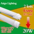 Banco Nos EUA 30 Peças LED Tubo 4FT 1200mm T8 Lâmpada Luz AC85-265V iluminação Sala de estar Quarto