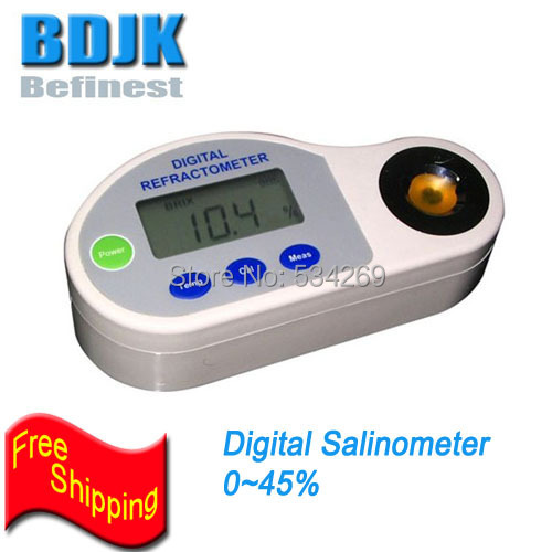 0~45% Portable Digital Salinity Refractometers Salt Meters ATC Pocket Salinometer Tester 120w 90mm single phase gear motor 220 ac with 7a electric current micro motors gear reduction motor induction motors ratio 5 1