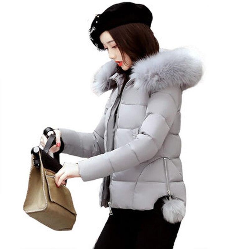 New 2018 Winter Jacket Women Warm Down Jacket Casual   Parka   Padded Winter Jacket Casual Slim Winter Coat Women LJ0522