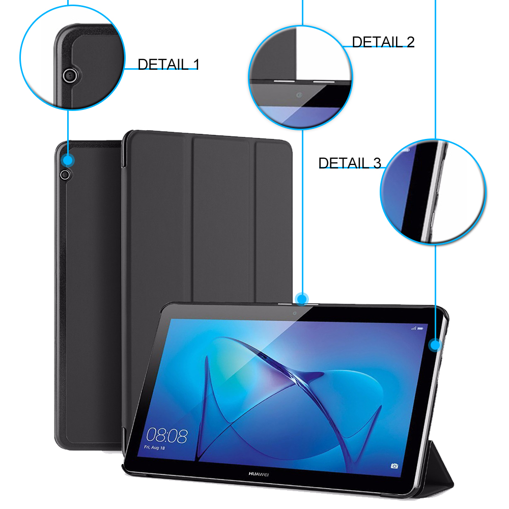 Smart stand cover case for Huawei MediaPad T3 9.6 AGS-W09/AGS-L09  protective cover case for Honor Play Pad 2 9.6 folio slim cover case for huawei mediapad t3 7 0 bg2 w09 tablet for honor play pad 2 7 0 protective cover skin free gift