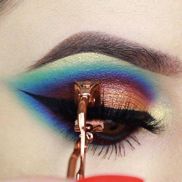 2019 New Eyelash Curler Make Up Tools Eyelash Curler Beauty Tool Eye Lashes Makeup eyelash tweezers Wholesale 2