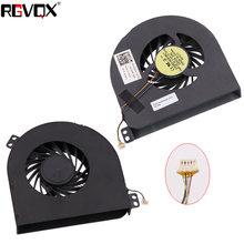 New Laptop Cooling Fan For Dell Precision M4600 CPU fan Original PN: DFS601605HB0T MG75150V1-C010-S99 Cooler Radiator