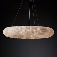 Vienna Design Glorious Crystal Ring Chandelier