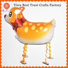 200 pcs/lot walking deer foil balloons walking Pet ballons Helium Gift Globos Balon for birthday party decorations kids цена и фото