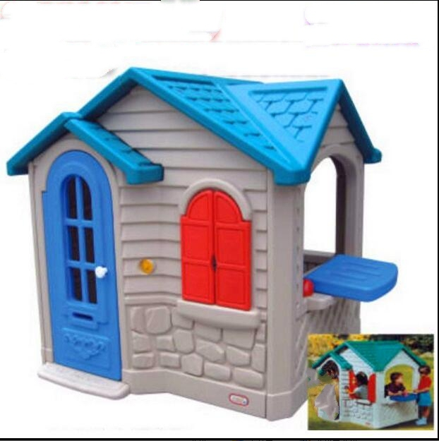 Foldable Kids Toy House Plastic Tent Indoor Or Outdoor For Children S Playground With Window And Door
