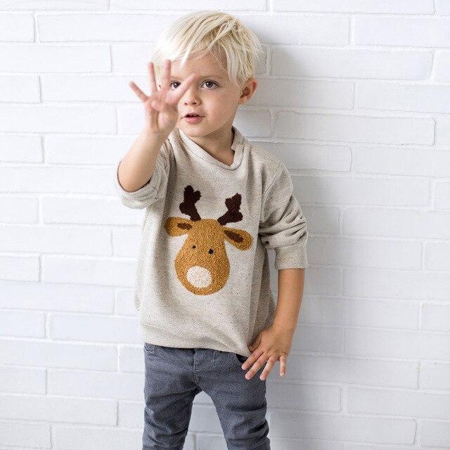 2017 New Brand Kid Tops Cute Kids T Shirt Designer Baby Toddler Boys