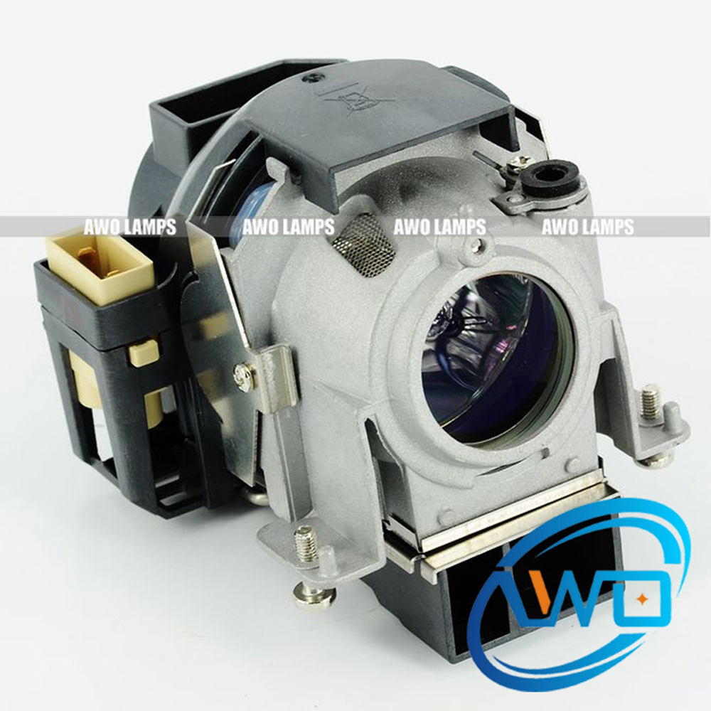 AWO 100% Original Projector Lamp NP03LP for NEC NP60/NP61/NP62/NP63/NP64 UHP200W Bulb Inside монитор nec 30 multisync pa302w sv2 pa302w sv2