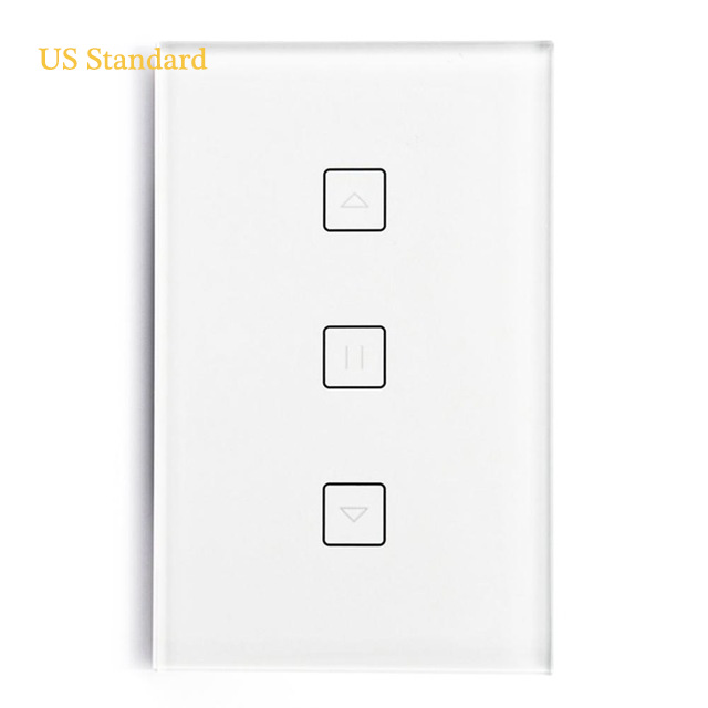 Wifi Curtain Switch Panel Smart Switch EU/US Type 100-240V 50/60Hz 10A For Google Home Alexa Wifi Support APPWifi Curtain Switch Panel Smart Switch EU/US Type 100-240V 50/60Hz 10A For Google Home Alexa Wifi Support APP