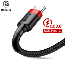 Baseus Kevlar USB Type C Cable for Samsung Galaxy S9 S8 Plus Quick Charge QC3.0 USB-C Charging Data Cable for One Plus 6 5 5t