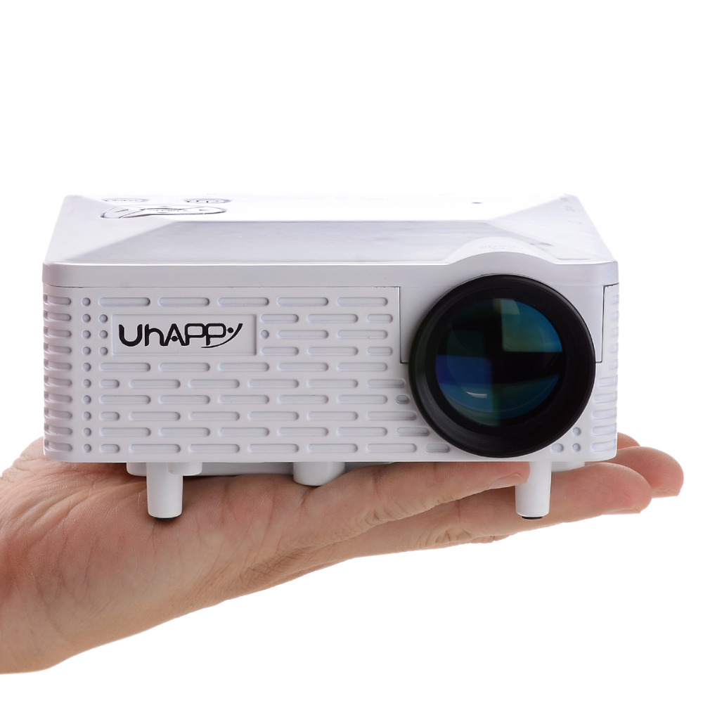 Original Uhappy u18 mini Pico portable 3D Projector HDMI Home Theater beamer multimedia projector Full HD 1080P video 2015 newest original mini pico portable full hd 3d projector hdmi home theater beamer multimedia proyector full hd 1080p video