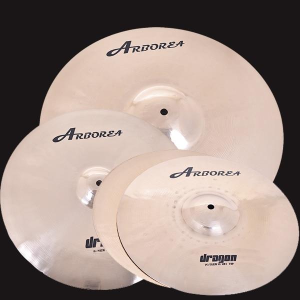 Arborea Dragon series cymbal set. 2