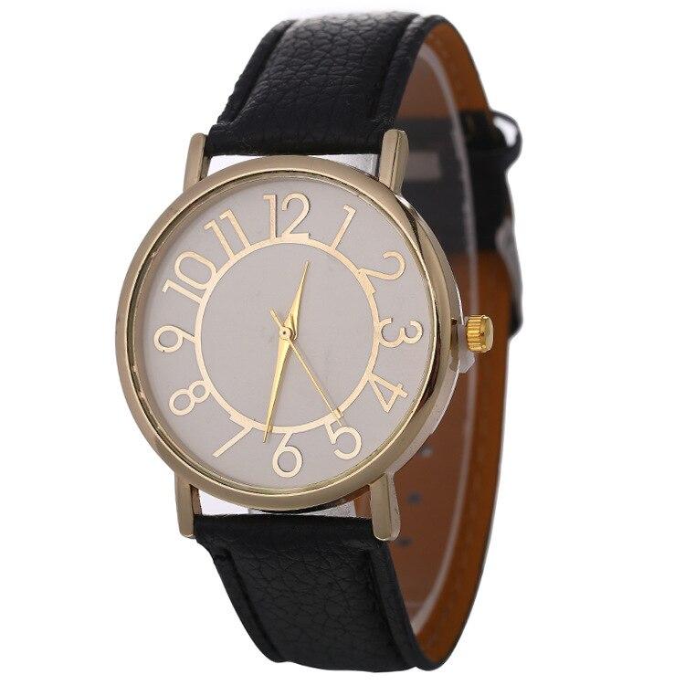 SANYU Simple Fashion Quartz Wristwatch Round Women Watch Analog Alloy Watches