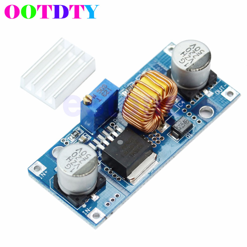 DC to DC 4V-38V to 1.25V-36V 5A MAX Step Down Power Supply Buck Module 24V 12V 9V 5V APR19 image