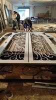 Shanghai China Factory Producing Wrought Iron Doors High Quality Export To U S Model Hench Ad24