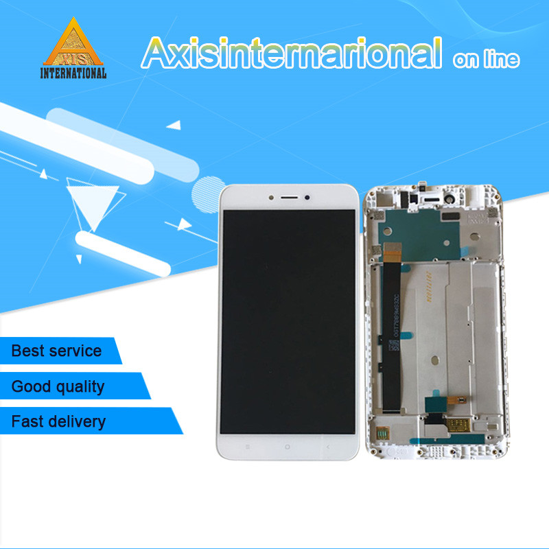 Axisinternational For 5.5 Xiaomi Redmi Note 5A Redmi Y1 Lite/Y1 LCD screen display+touch panel digitizer with frame Original