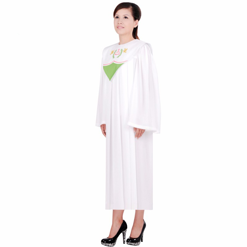 Church dress Clothes european version of the Bible costume garment singing clothing apparel High quality Christian gown