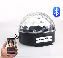 Colorfull sky led Night lamp remote recharge Starry projector bluetooth USB diamond Music Speaker bar party ktv decorative light