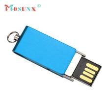 Mosunx New Swivel USB 2.0 128GB Flash Drive Memory Stick Storage Pen Disk Digital U Disk 17Jun26 Dropshipping