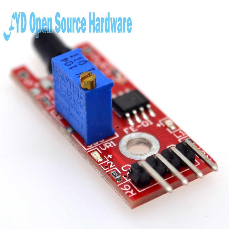 Eletrônica inteligente 4pin KY-026 sensor de chama ir módulo detecção incêndio detecta receptor infravermelho para arduino kit diy