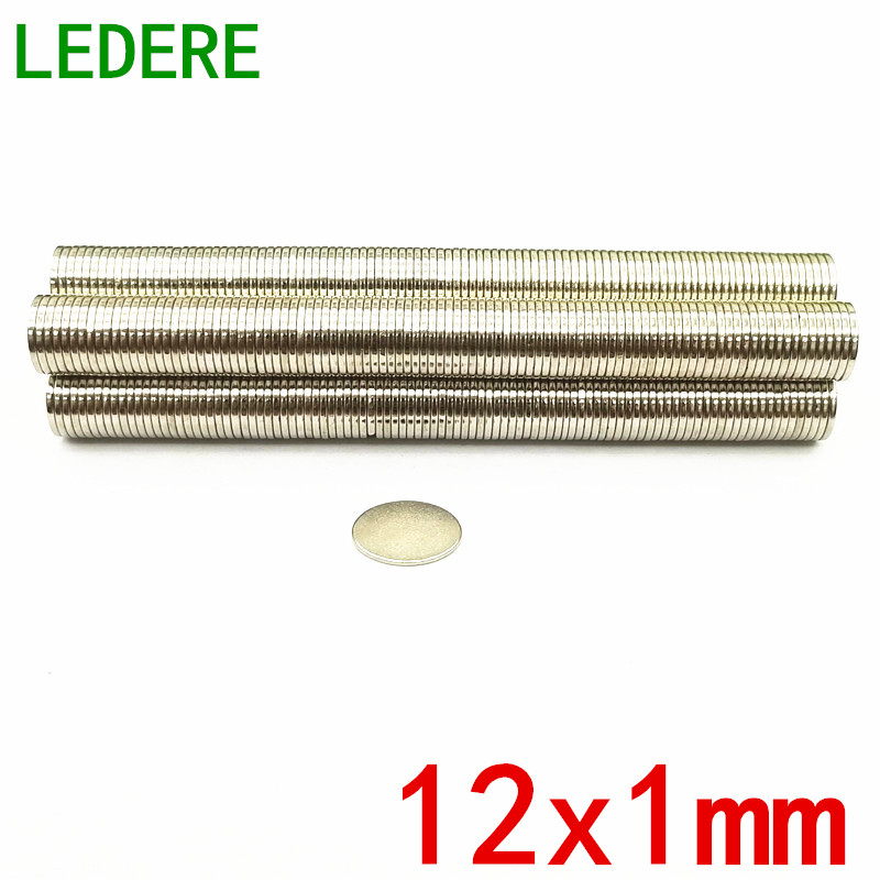 все цены на 10/20/50/100pcs Free Shipping N50 12x1mm Strong Round Magnets Dia 12x1 Neodymium Magnet Rare Earth Magnet 12*1mm 12x1 mm 12*1 онлайн