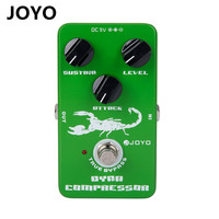 Joyo JF 10 Dynamic Compressor Guitar Pedal Effect Box With True BypassSpecifically For Bass And High