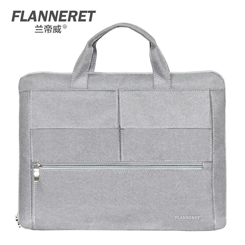 flanneret 14 15 inch laptop bag Sleeve Case sponge breathing material laptop sleeve for Dell Asus Lenovo HP Acer