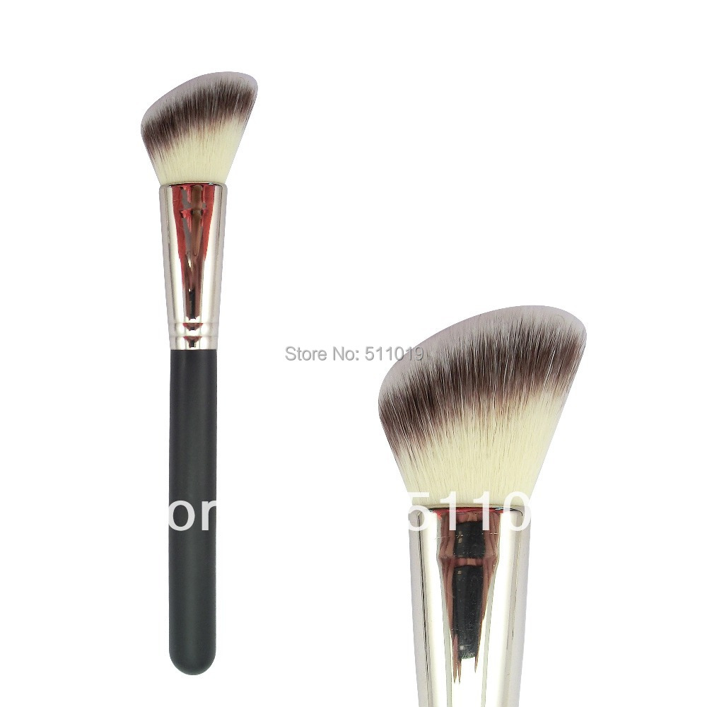bronzer brush. aliexpress.com : buy l242 cream angled blush brush / bronzer with free shipping from reliable suppliers on lanfung metal products co.,