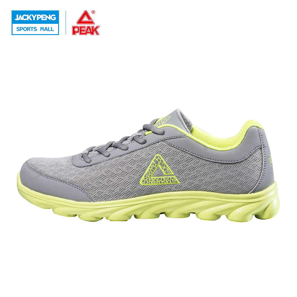 ФОТО PEAK Outdoor Sport Summer Light Running Shoes  Sport Trainers Rubber Bottom Sneakers Trainers shoes Black rey Red