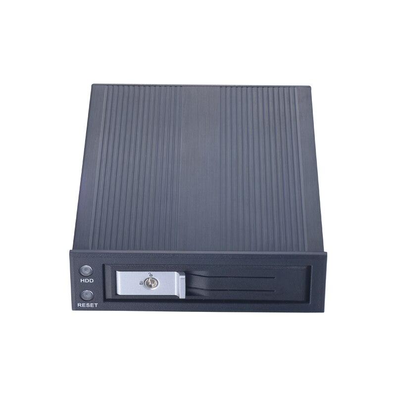3,5-дюймовый внутренний SATA HDD с мобильного стойка с питания и доступа выключатель с замком для 5,25 дюйма оптический Bay ПК с вентилятором