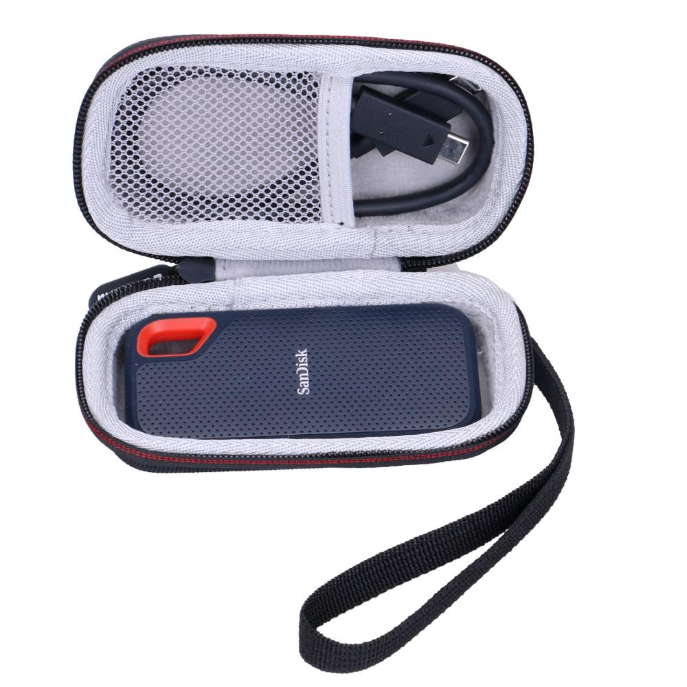 LTGEM EVA Waterproof Carrying Hard Case For SanDisk Extreme 250GB Portable SSD