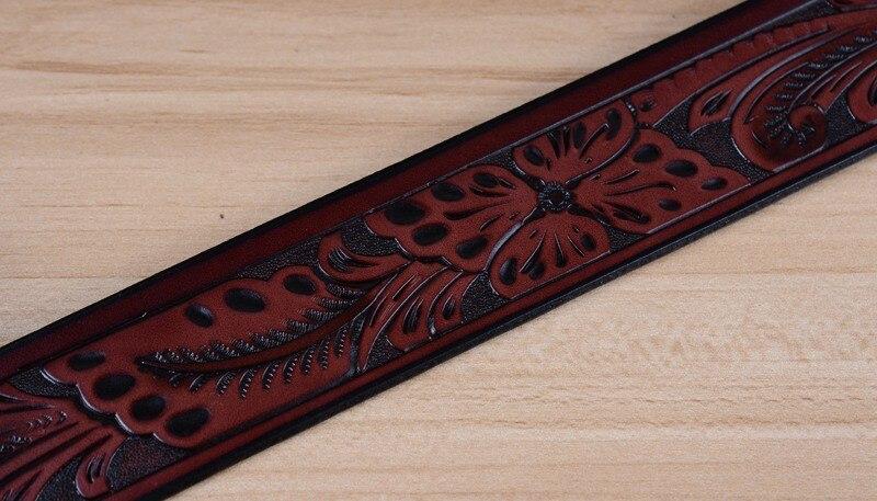 Новейший мужской ремень роскошные ремни из коровьей кожи для мужчин винтажные классические ремни с пряжкой из сплава коричневого цвета Прямая поставка