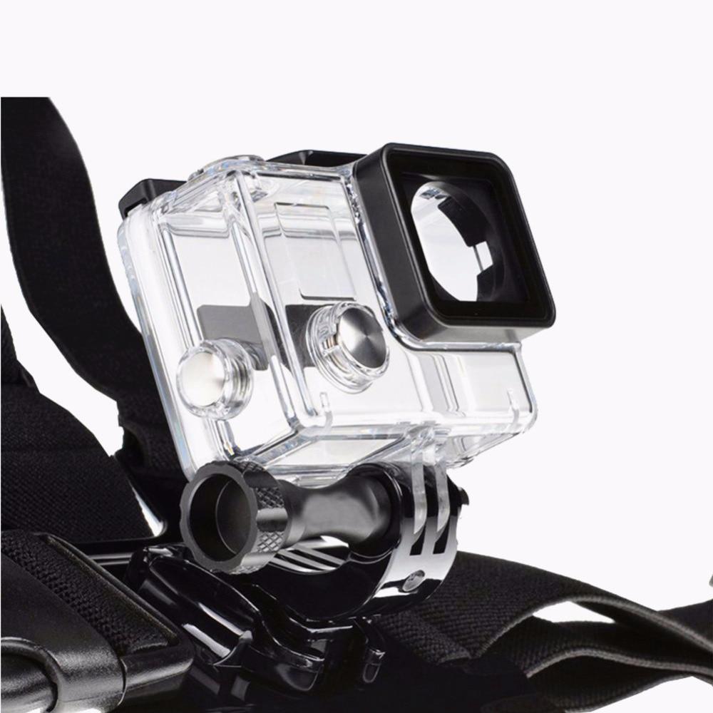 DSD TECH for Gopro hero 5 session black accessories kit mini case for gopro hero 5 4 3 sjcam sj4000 accessories sj5000x m20 07D