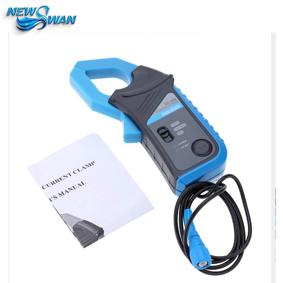 New Hantek CC650 CC-650 Up to 20 KHz 650A Oscilloscope Multimeter AC/DC Current Clamp from factory directly
