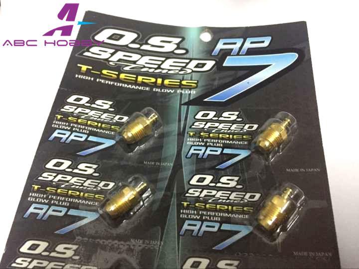 O.S Speed P3 GOLD Turbo Glow Plug Off Road Nitro 1//8 Engine Buggy Truggy