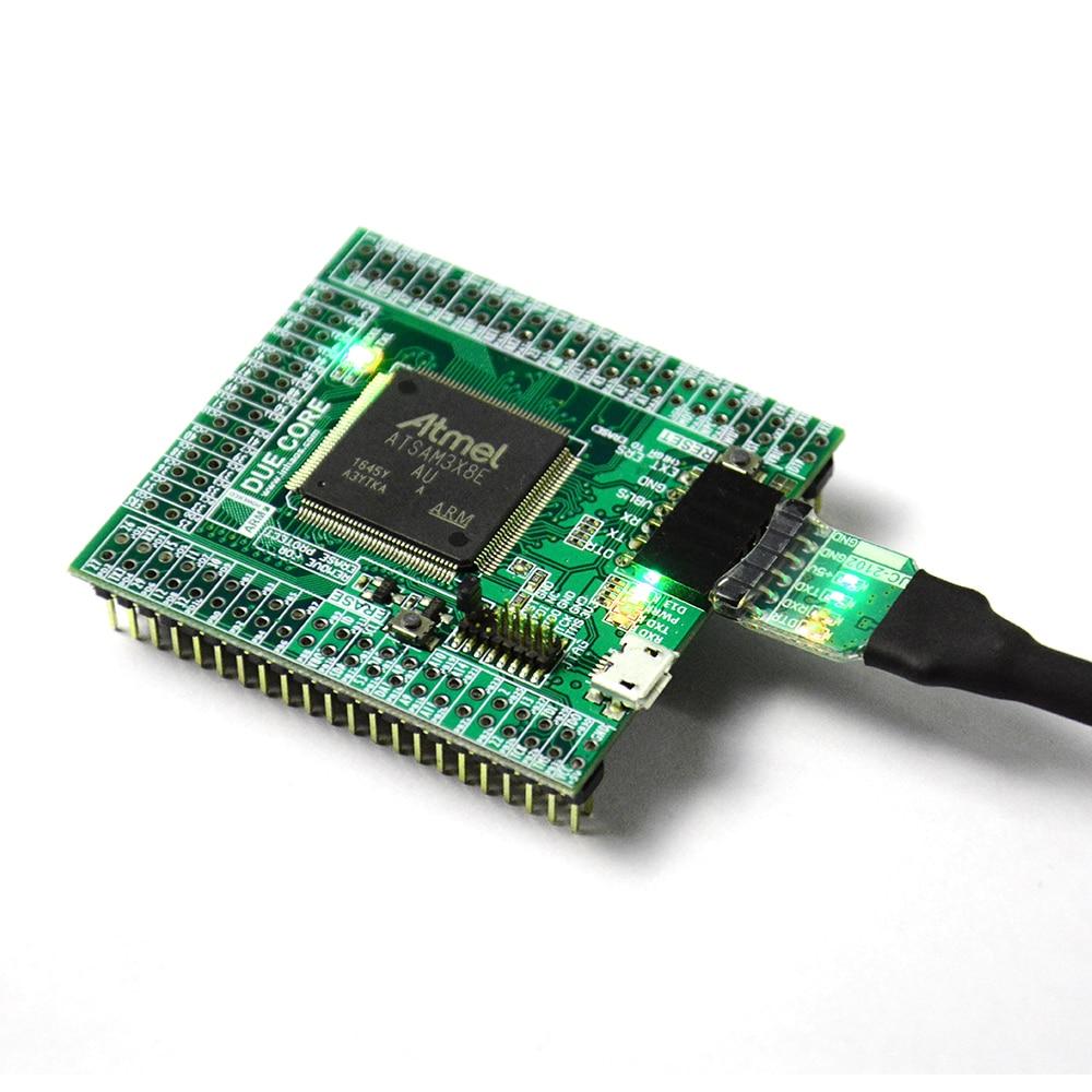 Raison R3 Core Pour Arduino Compatible SAM3X8E 32bit ARM Cortex M3 Module UC-2102 512 K Flash 96 K RAM 12bit ADC 12bit DAC 84 MHz