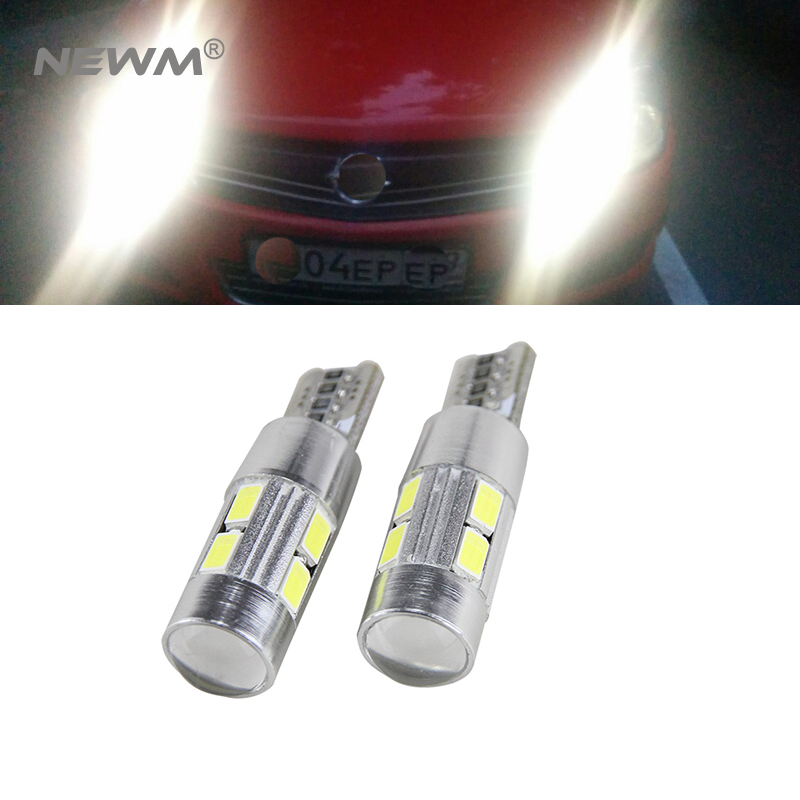 2x Canbus Error Free Car Wedge Light W5W T10 LED 5630 SMD Auto Lamp Bulb For <font><b>Opel</b></font> Astra h j g <font><b>Corsa</b></font> Zafira Insignia Vectra b c <font><b>d</b></font> image