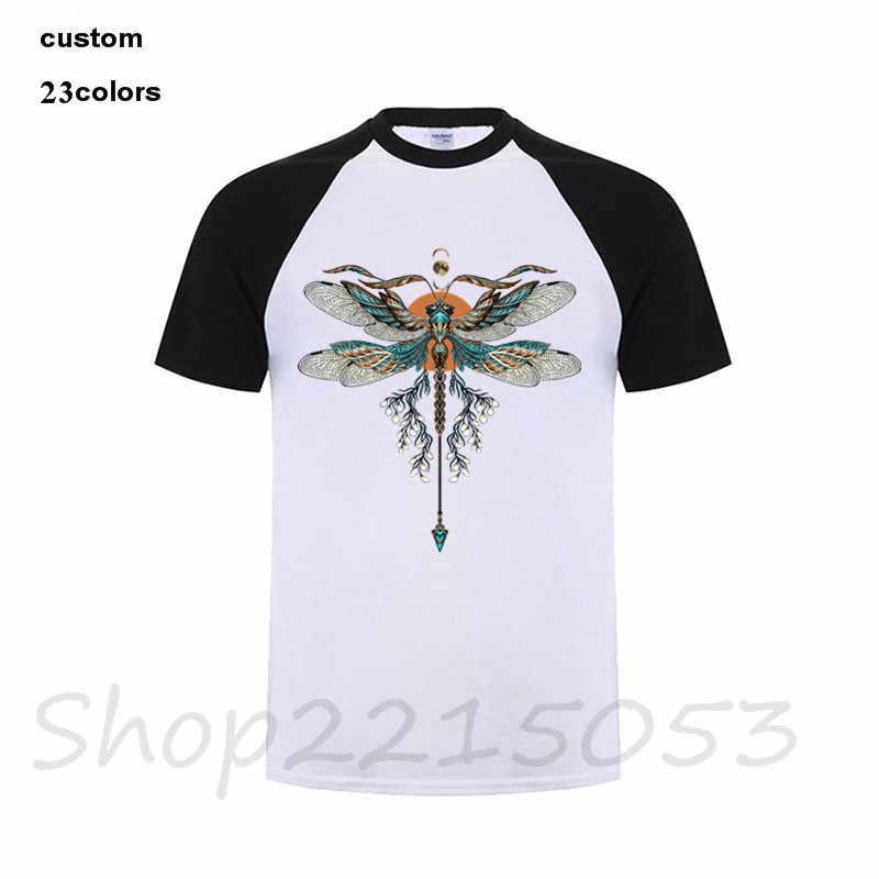 Libélula camisa t 2018 t-shirt da forma dos homens oodjis coisas estranhas pokemon bola dragão maravilhas rick e morty aptidão tshirt kpop