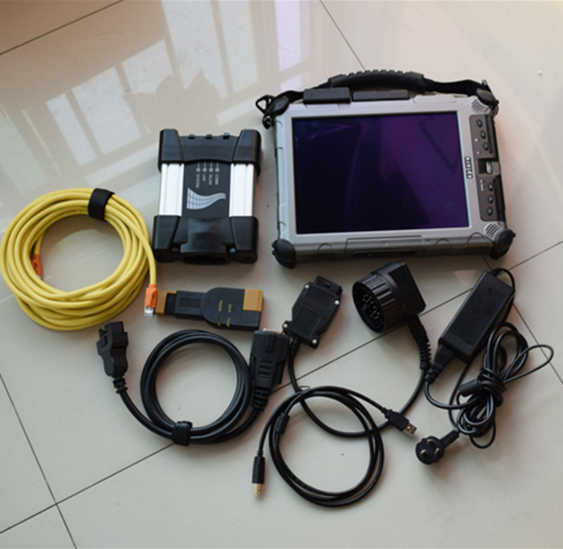For Bmw ista/d ista/p icom Professional diagnostic tool for bmw icom NEXT a b c with Laptop IX104 Installed 2018.09 Software SSD