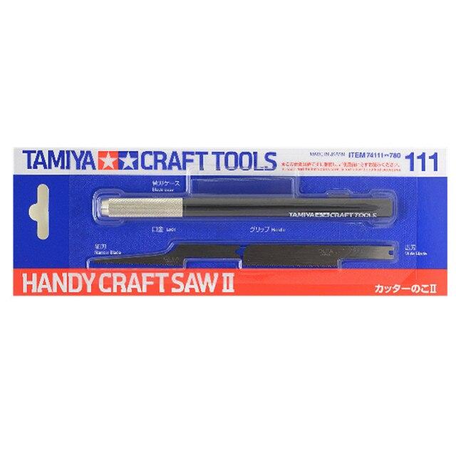 Tamiya 74111 Modelo OHS Artesanato Handy Saw II Kit de Ferramentas para o Modelo Passatempo Profissional do Ofício Ferramentas De Corte Acessório