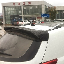 Car Styling For Kia Sportage R 2012 2013 2014 2015 ABS Plastic Material Unpainted Primer Color Tail Trunk Wing Rear Roof Spoiler