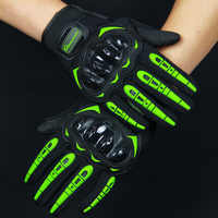 Guantes para motociclista profesional para hombre, mujer, guantes de motor de dedo completo, guantes deportivos luva motociclista M/L/ XL/XXL motocross eld