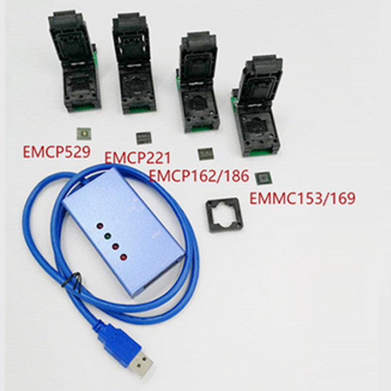 EMMC153 169 EMCP162 189 EMCP221 EMCP529 socket 6 pz per La vostra Scelta strumenti di recupero dati per il telefono android