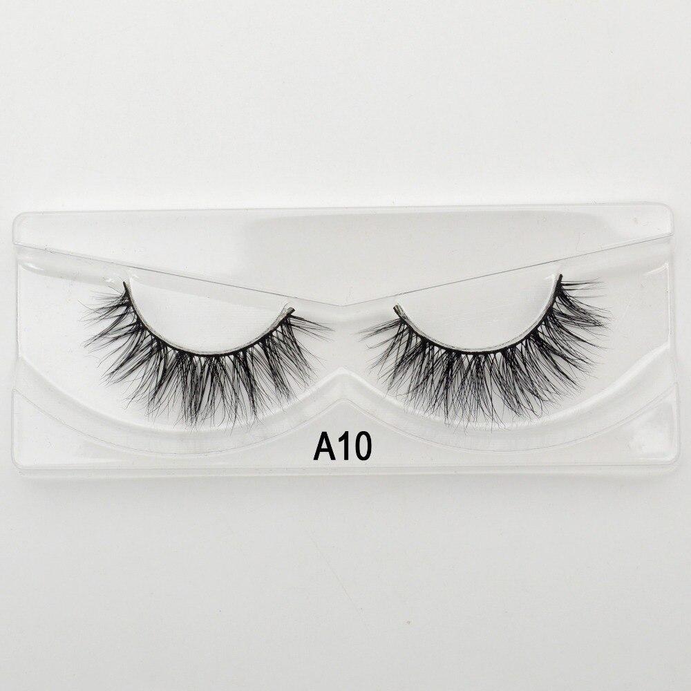 68369f3c84f Visofree Mink Lashes 3D Mink Eyelashes Crossing Eyelashes Hand Made Full  Strip False Eye Lashes New Arrival 11 styles-in False Eyelashes from Beauty  ...