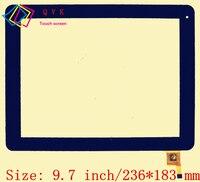 Preto 9.7 polegadas para explay l2 3g cinematv tablet pc capacitivo painel de vidro do digitador da tela de toque 04 0970 0938 v1|04-0970-0938 v1|capacitive touch screen|touch screen -