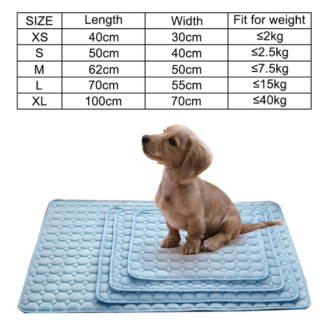 Dog Mat Cooling Summer Pad Mat For Dogs Cat Blanket   2