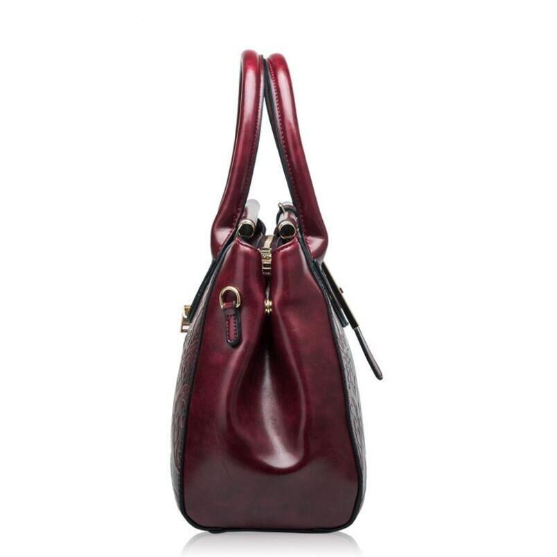 FoxTail & Lily Chinese Style Vintage Çiyin Çantaları Qadın Əsl - Çantalar - Fotoqrafiya 3