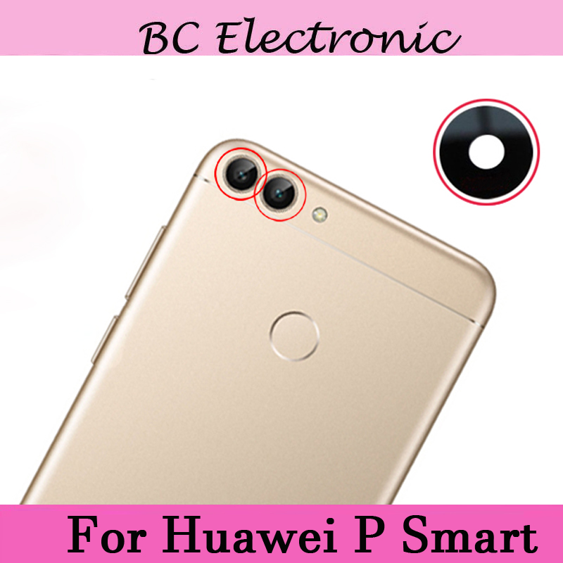 2 piezas para Huawei P inteligente cámara trasera vidrio lente ...
