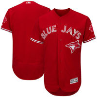 MLB Men S Toronto Blue Jays Baseball Alternate Bright Royal Flex Base Authentic Collection Team Jersey