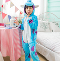 Onesies Kigurumi Pijama Animal Kigurumi Crianças James P Sullivan Monstros Universidade Monstros Trajes Cosplay Anime Sleepsuit